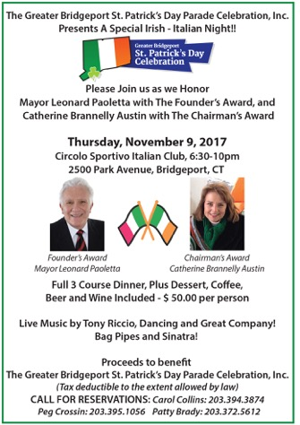 A Special Irish – Italian Night!