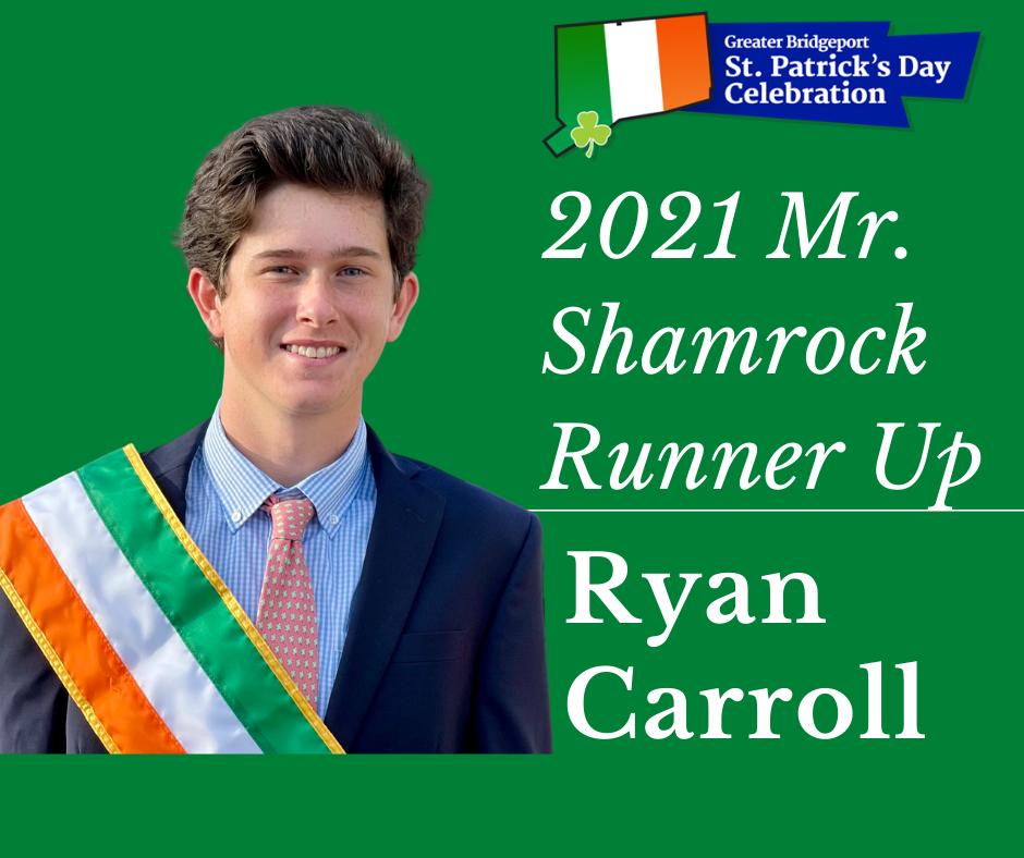 Ryan Carroll - 2021 Mr. Shamrock Runner-up