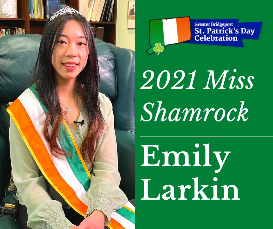 Emily Larkin - 2021 Ms. Shamrock